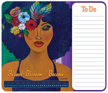 Believe,Blossom & BecomeMemo Mouse Pad