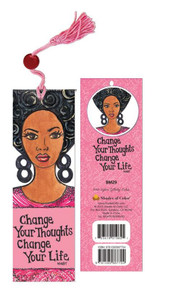 Change Your Thoughts, Change Your Life Bookmark - GBaby