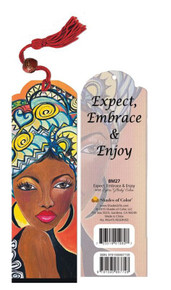 Expect, Embrace And Enjoy Bookmark - GBaby