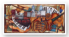 Philly Jazz (Philadelphia art expo 2005)--Sidney Carter