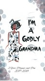 I,m A Godly Grandma 2017 - 2018 African American Checkbook Cover Planner