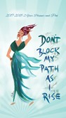 Don't Block My Path As I Rise 2017 - 2018 African American Checkbook Cover Planner