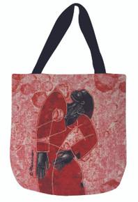 Definately Delta Woven Tote Bag