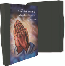 Praying Hands Classic Bible Covers-Twin Hicks