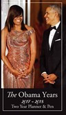The Obamas 2018 - 2019 African American Checkbook Planner with Pen