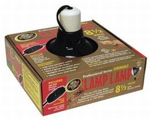 Zoo Med Deluxe Professional Series Dimmable Clamp Lamp Black 10in