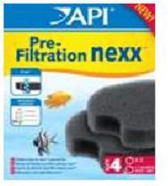 API nexx & Rena SmartFilter Pre-Filtration Foam Size 4 2pk