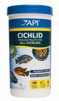 API Cichlid Premium Floating Pellet Medium 4.2oz