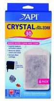 API SUPERCLEAN Power Filter Crystal Bio-Chem Zorb Size 30 6pk