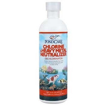 API PondCare Chlovine & Heavy Metal Neutralizer 16oz bottle
