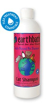 earthbath Cat Shampoo & Conditioner In One 16oz
