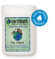 earthbath Ear Wipes 25ct