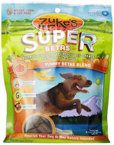 Zuke's Supers All Natural Nutritious Soft Superfood Dog Treats, Yummy Betas Blend 6-Ounce