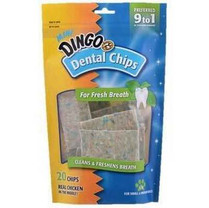 Dingo Dentral Mini Chips For Fresh Breath 20pk