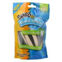 Dingo Dental Spirals For Fresh Breath 15pk