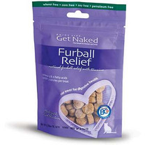 Get Naked 200571 Furball Relief Semi-Moist Treats for Cats