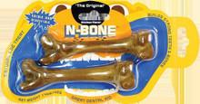 N-Bone The Original Chew Bone Chicken flavor Small size for 5-12 lb dogs 2pk