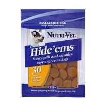 Nutri-Vet Hide'ems Sweet Potato & Beef pill wrap 3.2 oz