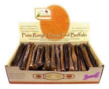 Canine Caviar Buffalo Bully Stix 6in 50pc