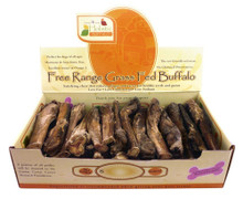 Canine Caviar Buffalo Lollipops 50pc 6in