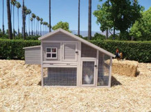 Precision Pet Products Extreme Cape Cod Chicken Coop