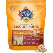 Nature's Recipe Chicken Biscuit Minis Dog Treats