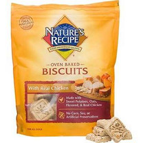 Nature's Recipe Oven Baked Chicken Dog Biscuits, 19 oz.