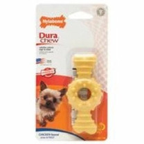 Nylabone DuraChew Textured Ring Bone Chicken Blister Card Petite