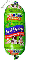 Redbarn Beef food roll 2lb 3oz