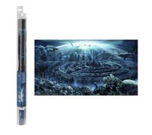 Hydor H2shOw Atlantis Aquarium Background 31.5 x 15.75