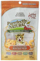 Loving Pets Purrfectly Natural Freeze Dried Shrimp Treats for Cats, 0.5-Ounce
