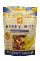DOGSWELL VEGGIE LIFE HAPPY HIPS Chicken & Banana with Gluosmine & Chondroitin 5oz