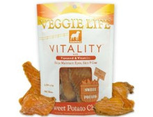 DOGSWELL VEGGIE LIFE VITALITY Sweet Potato Chew with Flaxseed & Vitamins 15oz