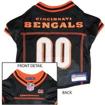 Cincinnati Bengals NFL Dog Jersey - Small