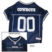 Dallas Cowboys Dog Mesh Jersey (Small)