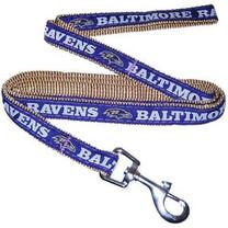 Baltimore Ravens NFL Dog Leash - Large