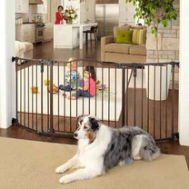 North States Deluxe Decor Pet Gate