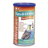 8 in 1 Ecotrition Oats & Groats Health Blend for Parakeets 8oz