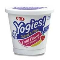 8 in 1 Yogies Fruit Flavor w Vit C- Guinea Pig 3.5oz