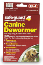 8 in 1 Safeguard 4 Canine Dewormer for Large Dogs 4gram
