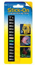 Taam Digital Stick On Thermometer Reads Between 64-93 Degrees F