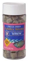 San Francisco Bay Brand Freeze Dried Bacteria Free Tubifex Worms 0.50oz