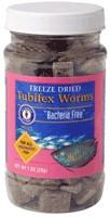 San Francisco Bay Brand Freeze Dried Bacteria Free Tubifex Worms 1oz