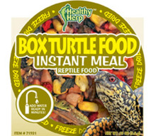 San Francisco Bay Brand Healthy Herp Instant Meal Box Turtle .19oz