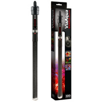 ViaAqua Quartz Glass Submersible Heater With Thermostat 300W