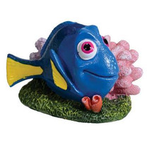 Penn Plax 2 in. Dory with Coral Aquarium D?cor