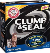 Arm & Hammer Clump & Seal Clumping Litter, 14-Pound, Fresh Home