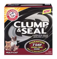 Arm & Hammer Multi-Cat Clump & Seal Clumping Litter, 14-Pound