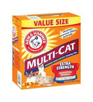 26.3LB Multi Cat Litter