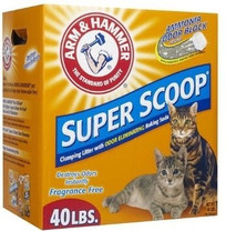 Arm & Hammer Super Scoopr Clumping Unscented Litter 40lbs